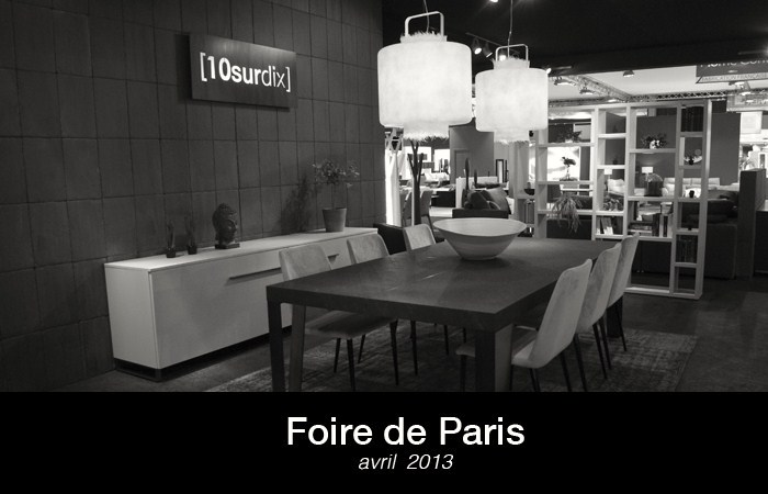 stand foire de paris top hortense assaga sur le stand de. Black Bedroom Furniture Sets. Home Design Ideas